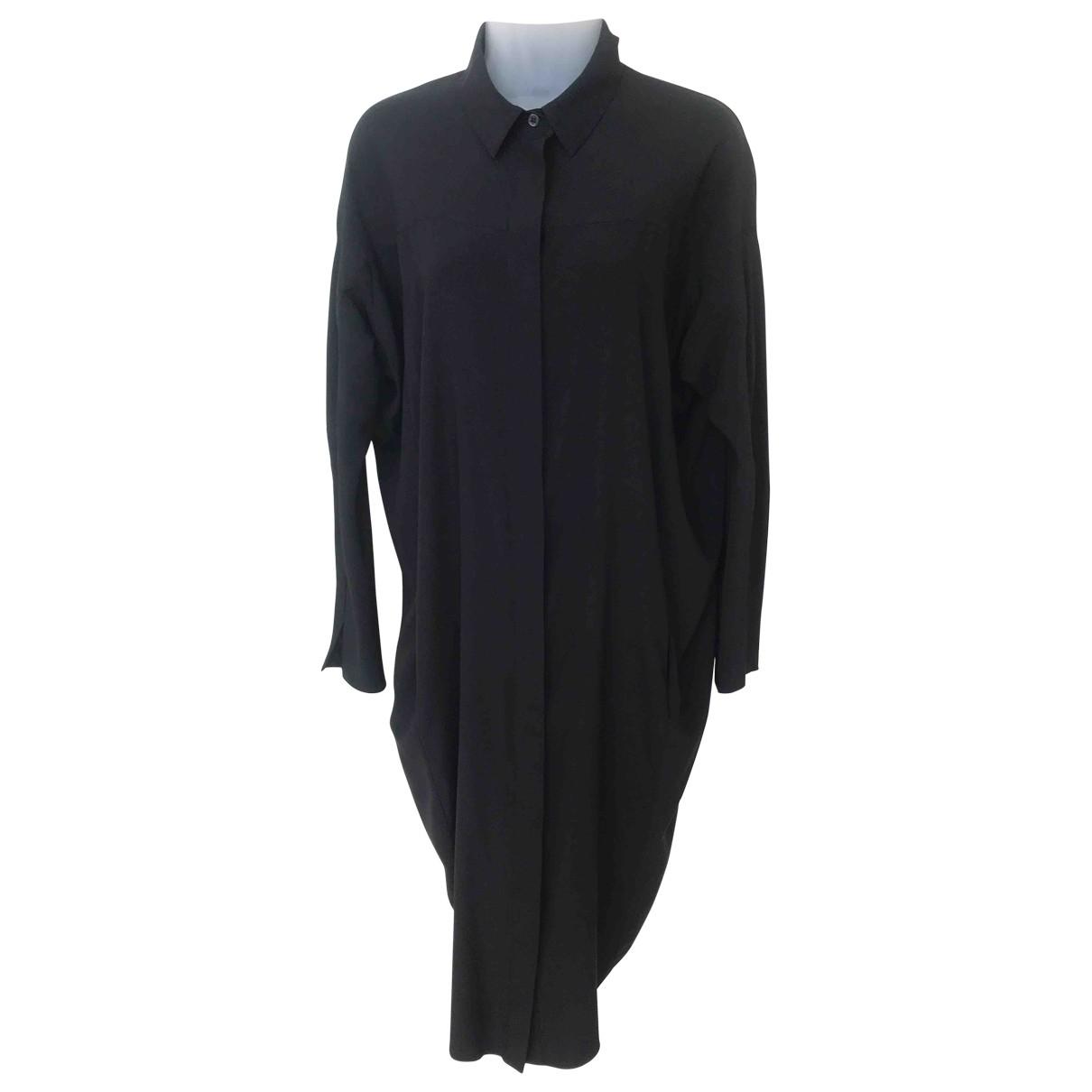 Zero+maria Cornejo - Robe   pour femme en soie - noir
