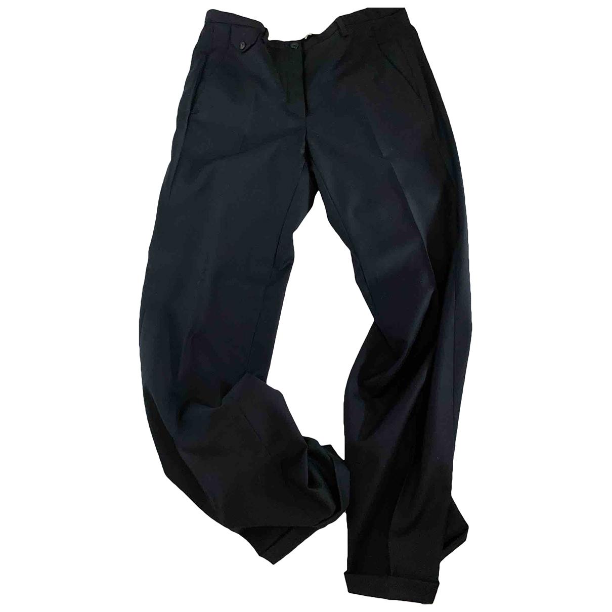 Golden Goose \N Blue Wool Trousers for Women S International