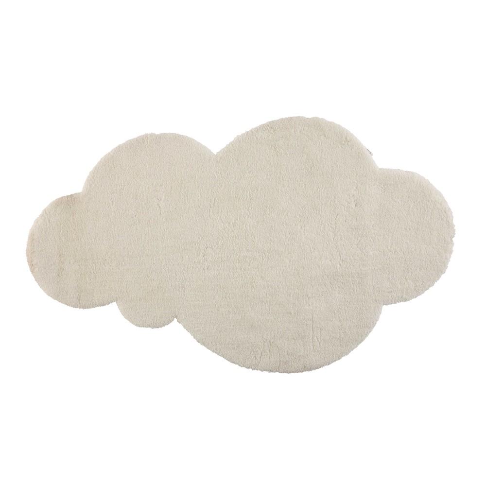 Kurzhaarteppich Wolke, ecru, 125x200