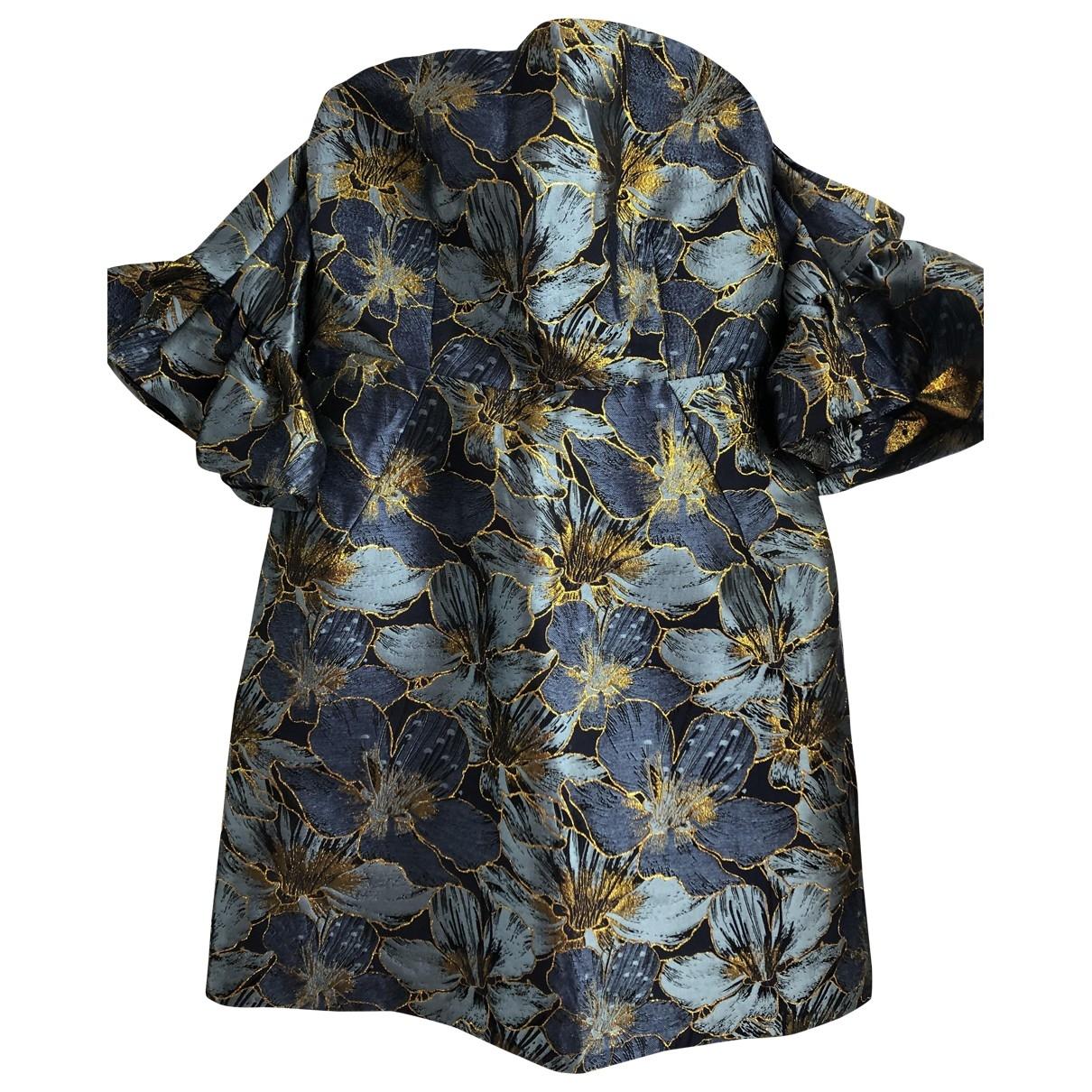Topshop - Robe   pour femme - bleu