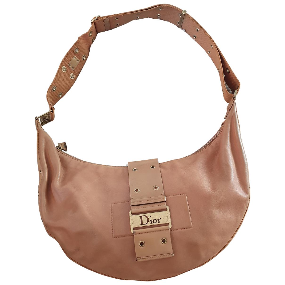 Dior 30 Montaigne Handtasche in  Kamel Leder