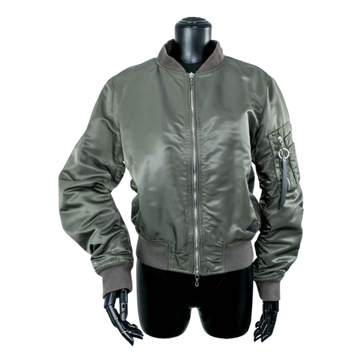 Rag & Bone N Khaki Leather jacket for Women S International