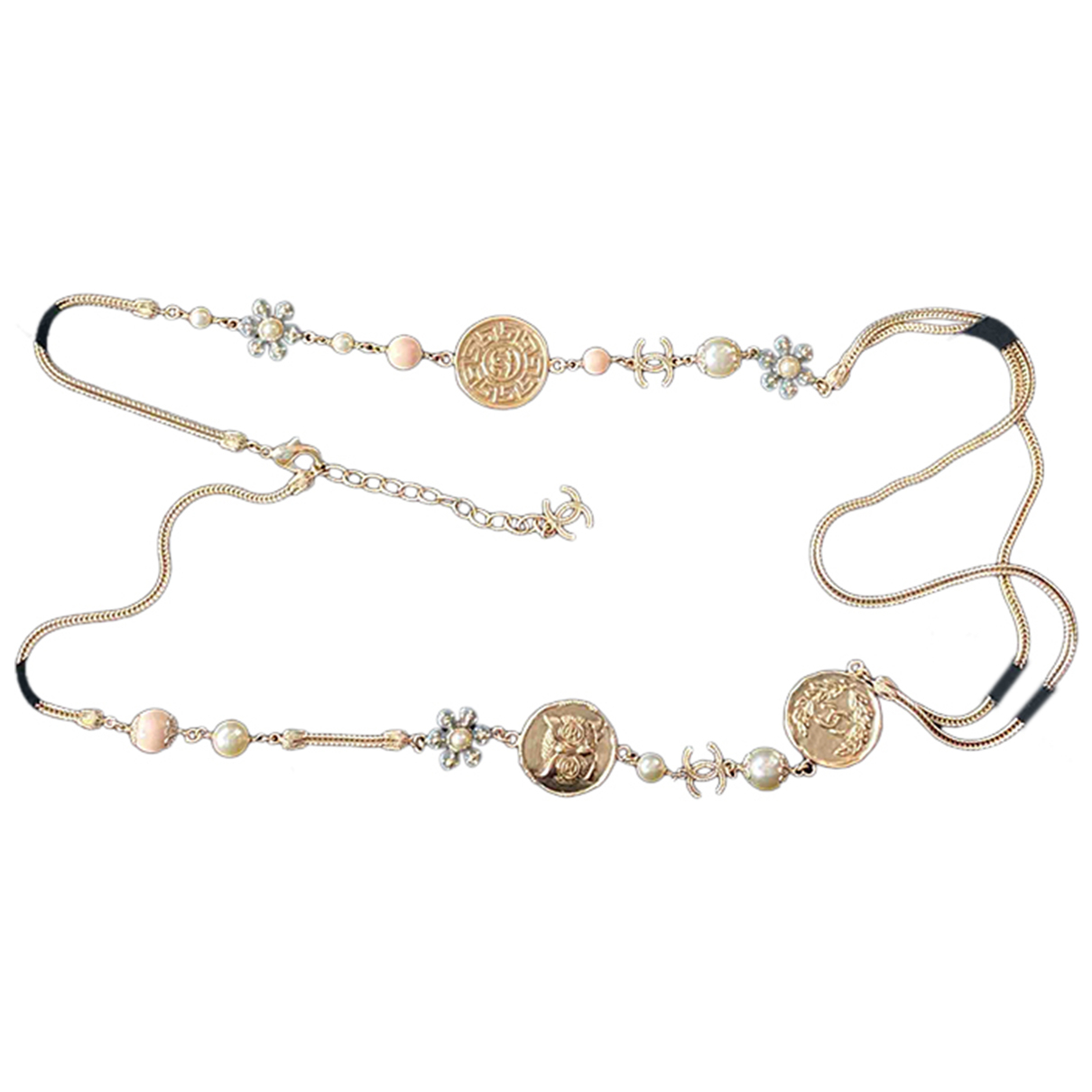 Chanel \N Gold Metal Long necklace for Women \N