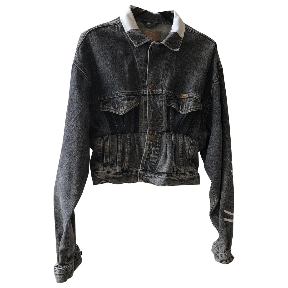 1/0ff \N Grey Denim - Jeans jacket for Women 2 0-5
