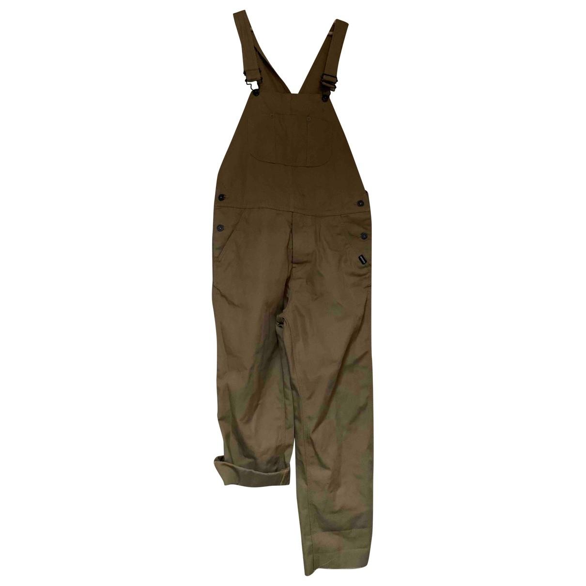 Napapijri \N Beige Cotton jumpsuit for Women XS International
