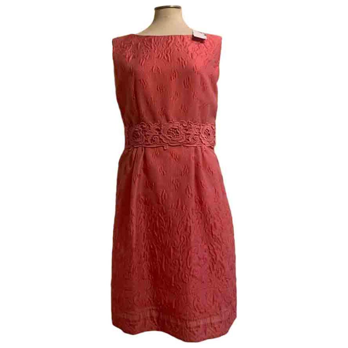 Philosophy Di Alberta Ferretti - Robe   pour femme en coton - rose