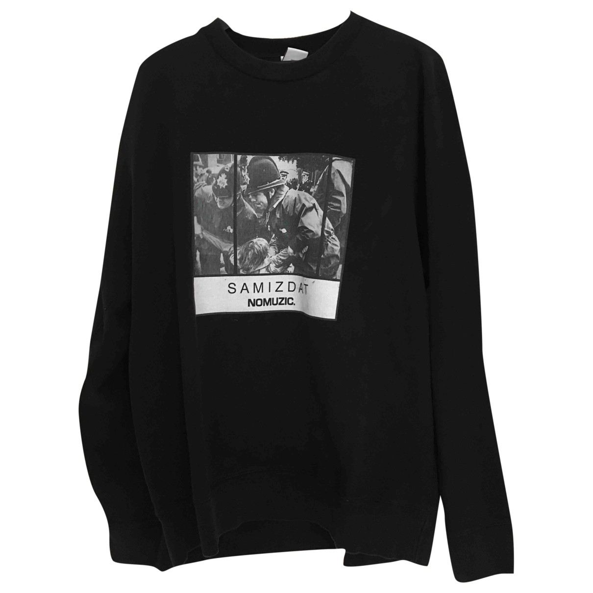 Yang Li \N Pullover.Westen.Sweatshirts  in  Schwarz Baumwolle