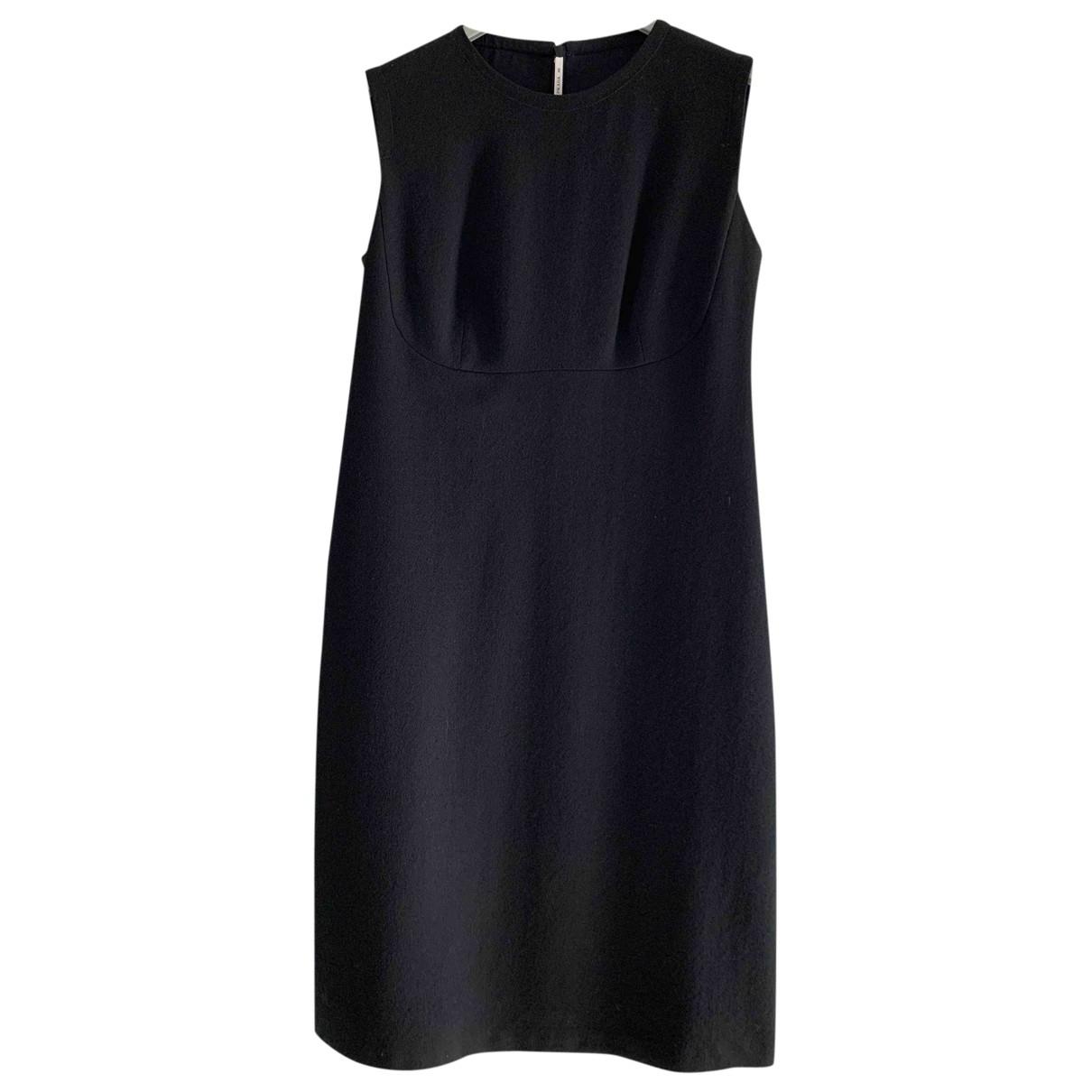 Prada - Robe   pour femme en laine - noir