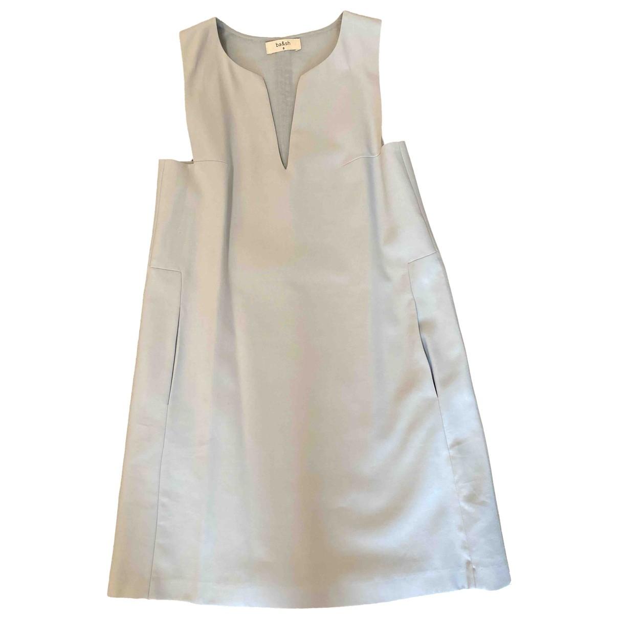 Ba&sh \N Blue Cotton dress for Women 36 FR