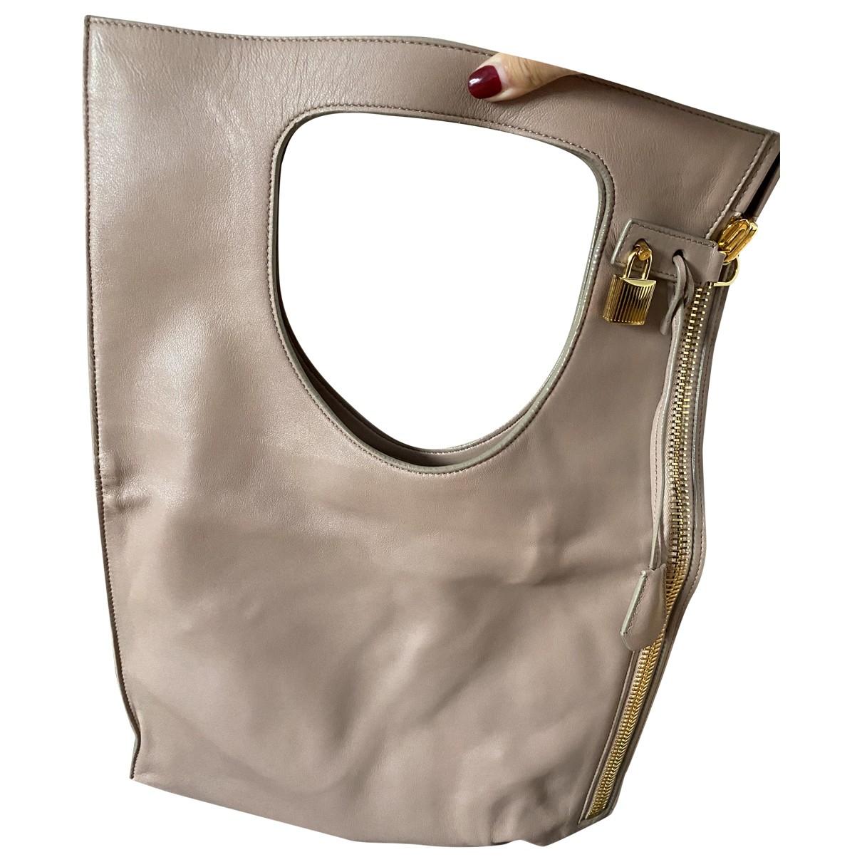 Tom Ford Alix Handtasche in  Rosa Leder
