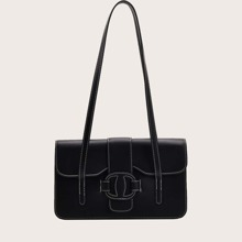 Stitch Trim Shoulder Bag