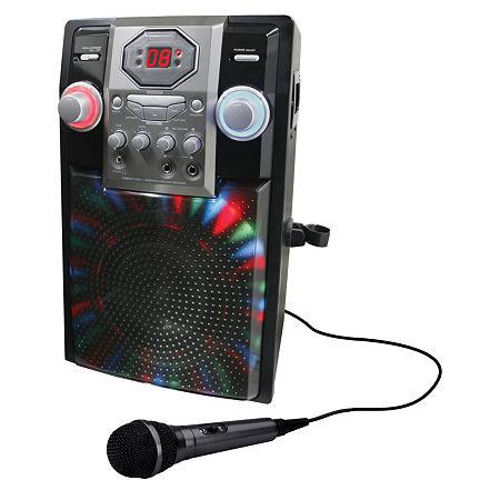 GPX JB185B Bluetooth Karaoke Machine, One Size , Black