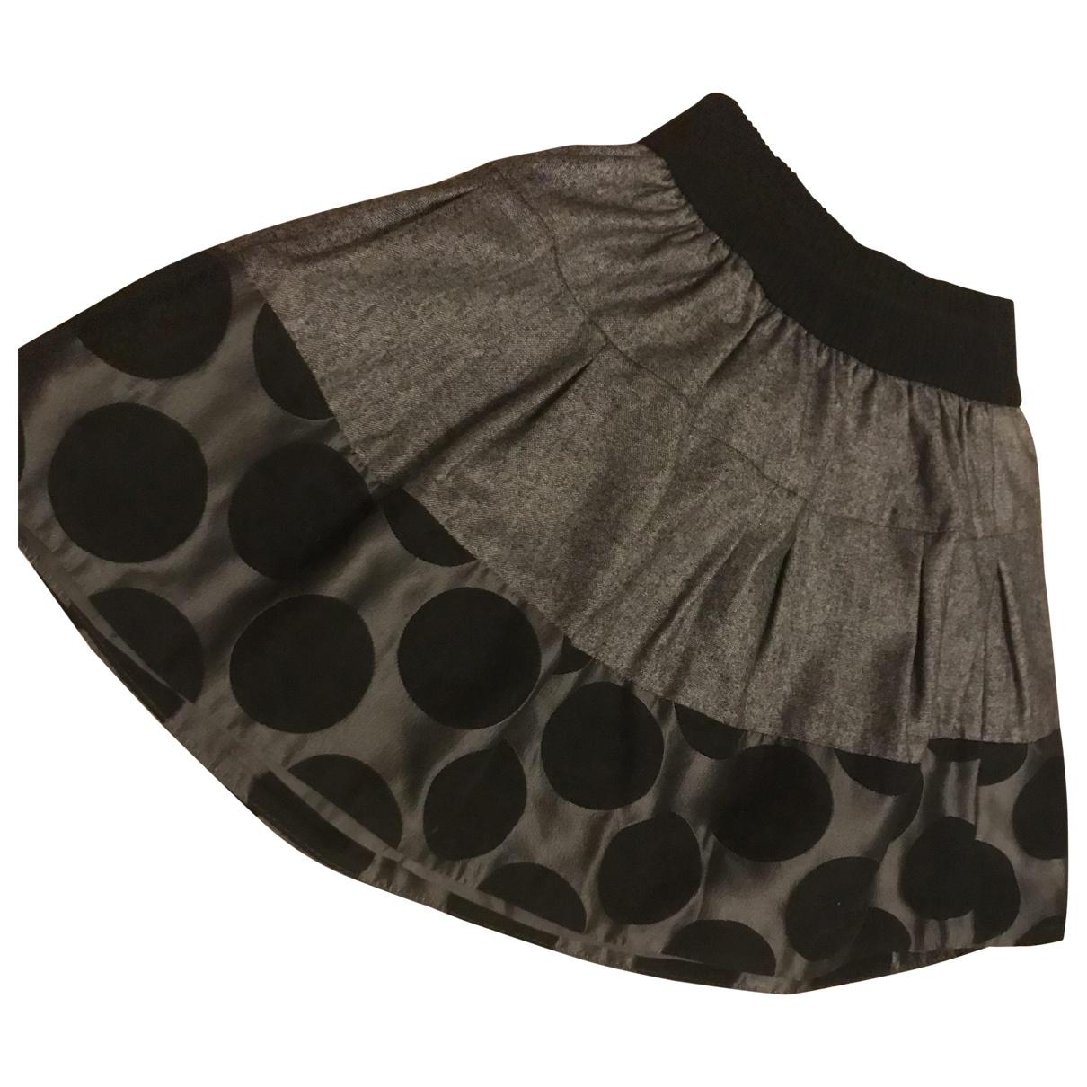 Mini falda de Lana Simonetta