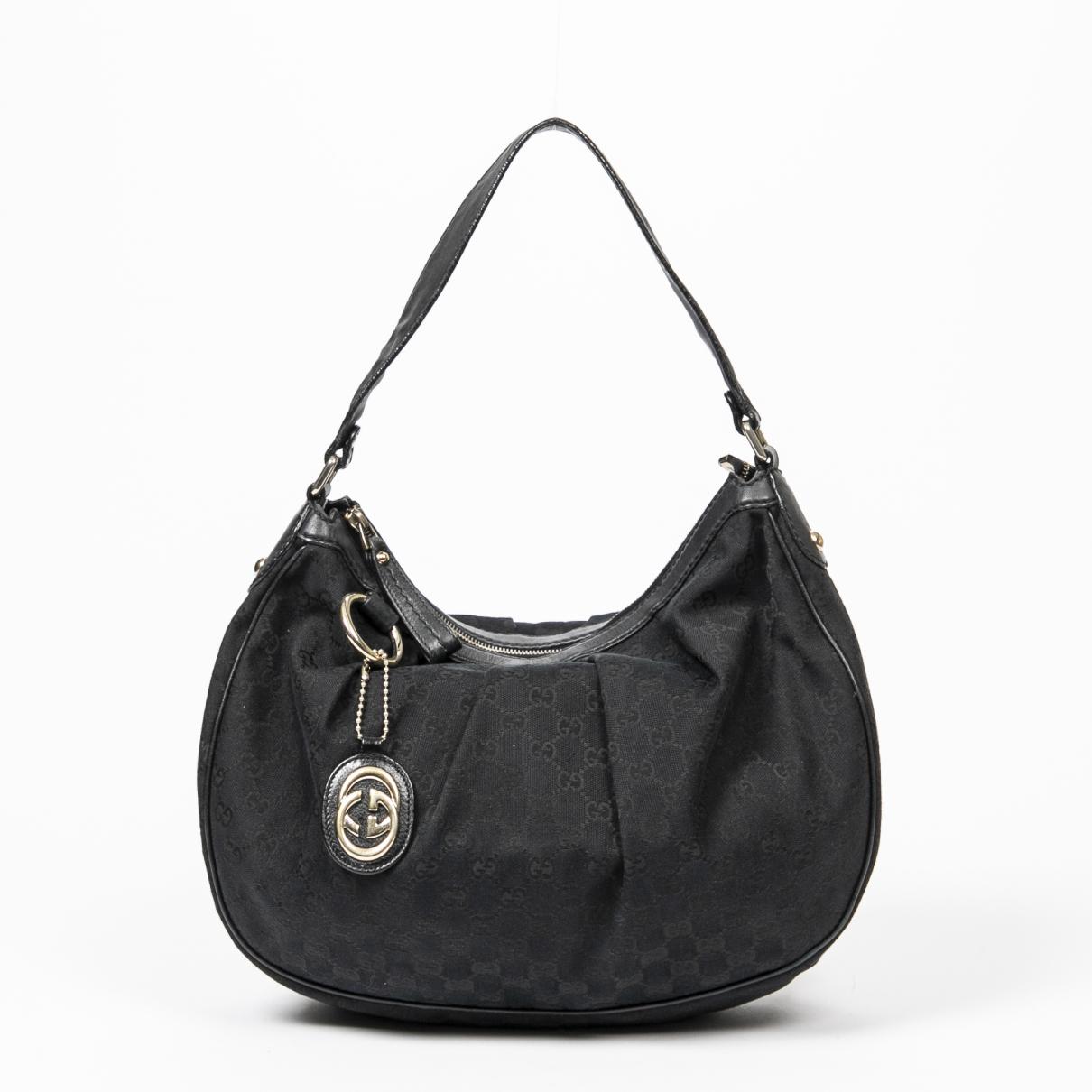 Gucci Sukey Black Cotton handbag for Women \N