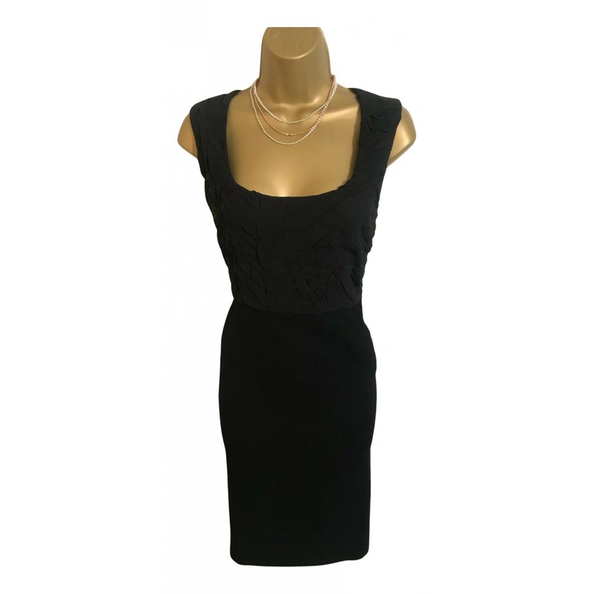 Jigsaw \N Kleid in  Schwarz Wolle