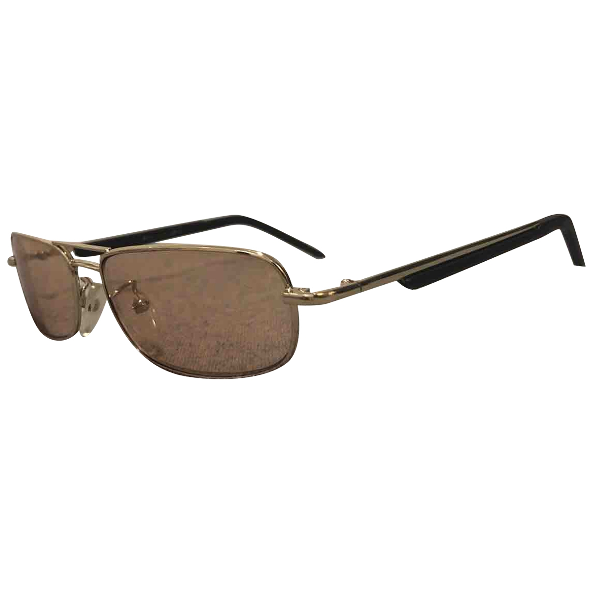 Non Signé / Unsigned \N Pink Metal Sunglasses for Women \N