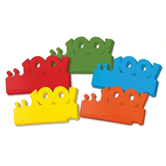 First 100 Days Paper Crowns, ct Of 25 By Creativity Street | Michaels®