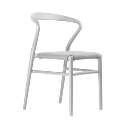 Joi TO-1524W-C Twentyfour Chair White with Coffee Seat