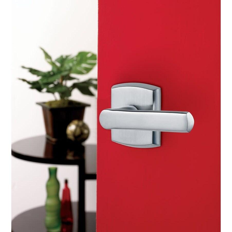 Baldwin 5485V.LDM 5485V Left Handed Non-Turning One-Sided Dummy Door (Lifetime Polished Nickel)