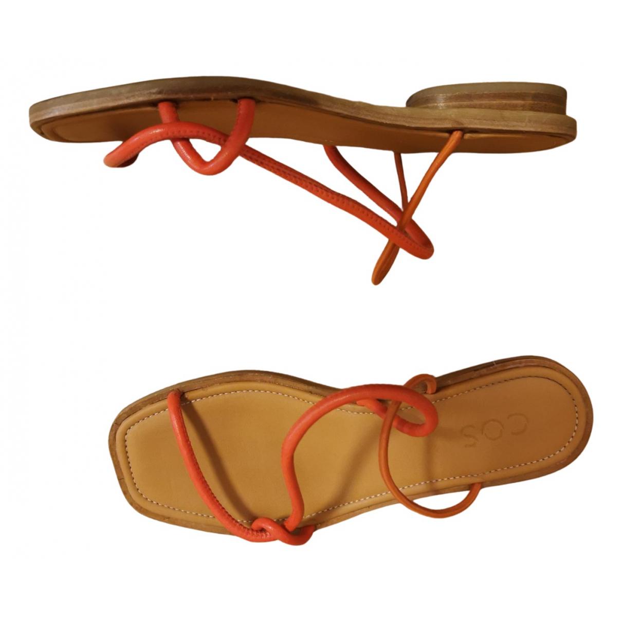 Cos N Orange Sandals for Women 38 EU