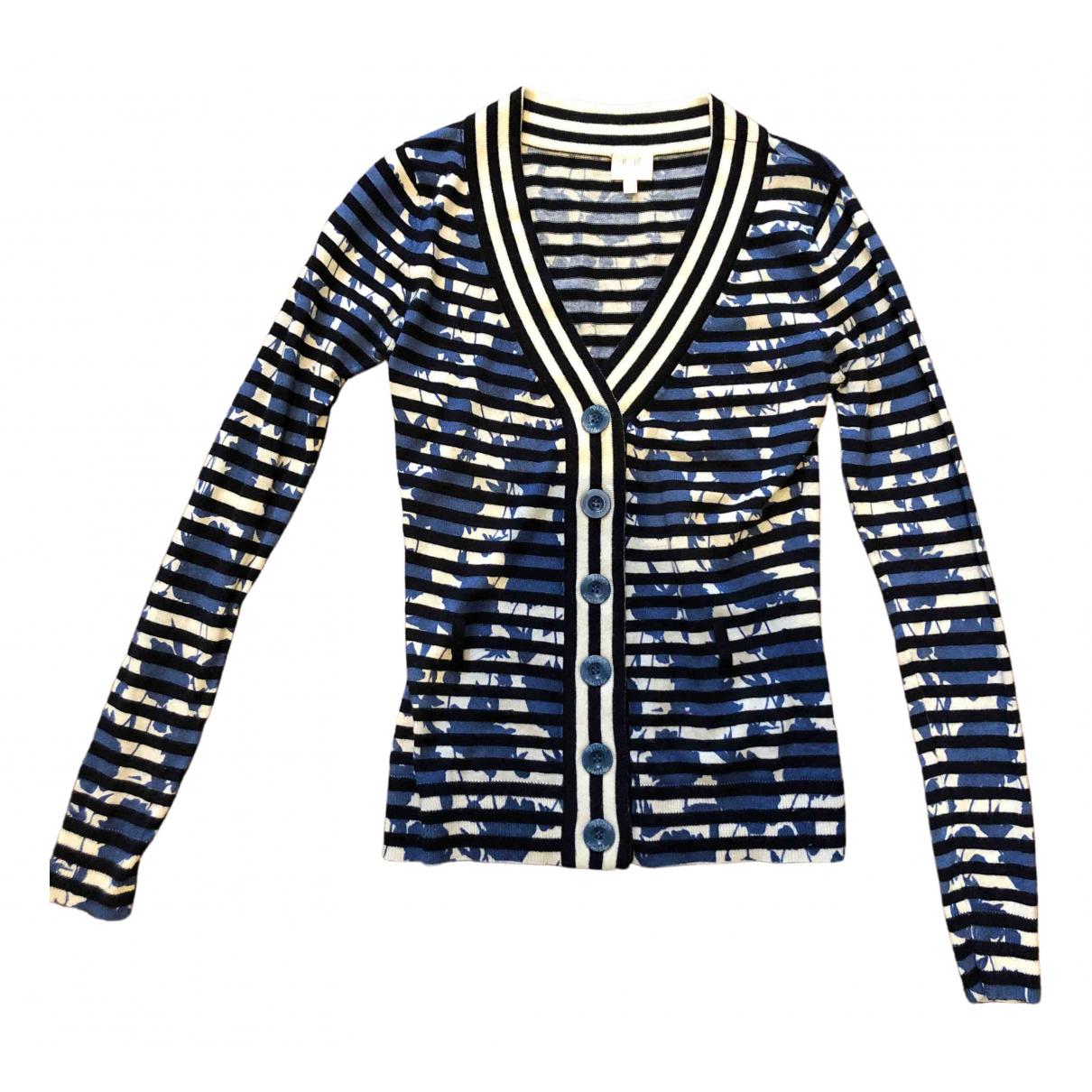 Whistles - Pull   pour femme en laine - bleu