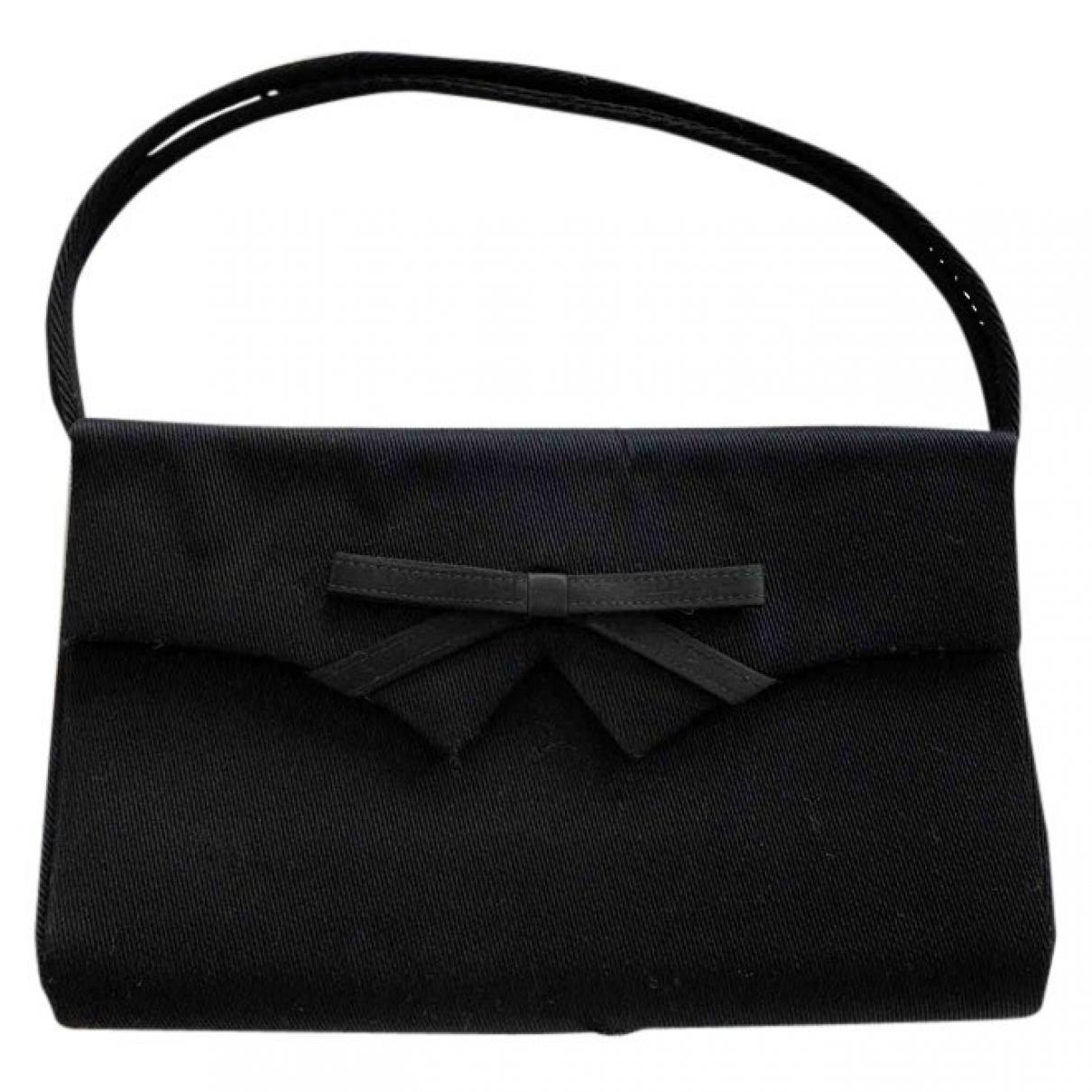 Gucci - Pochette   pour femme en soie - noir