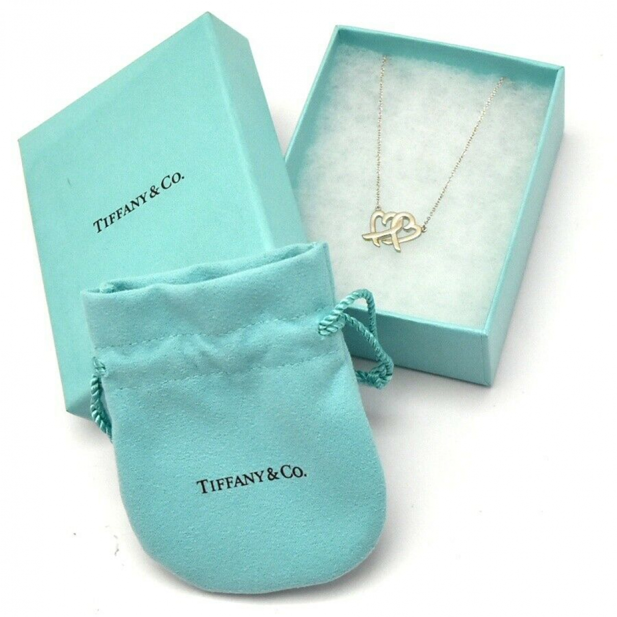 Tiffany & Co N Silver necklace for Women N