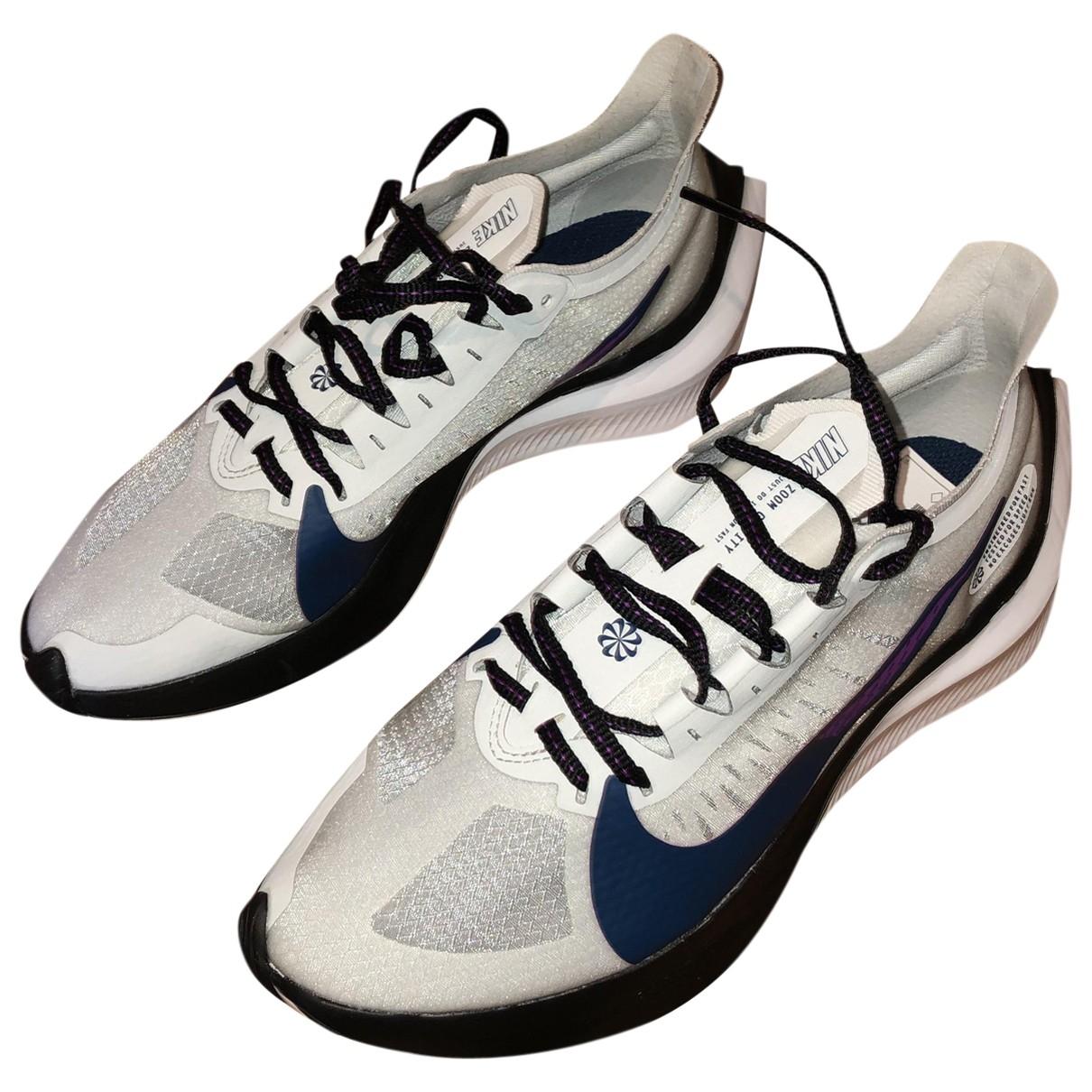 Nike Zoom White Trainers for Women 38 EU