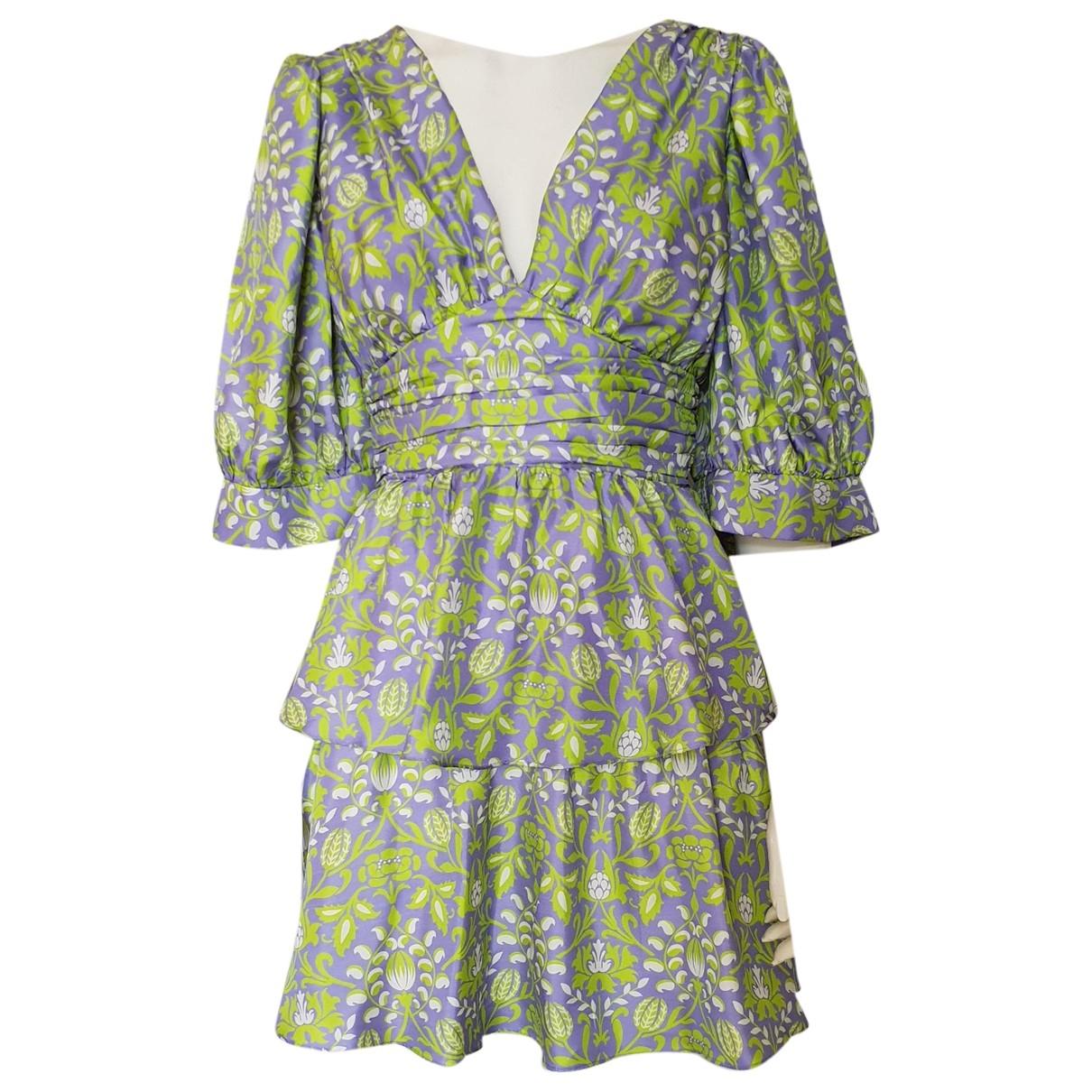 Cynthia Rowley \N Green Silk dress for Women S International