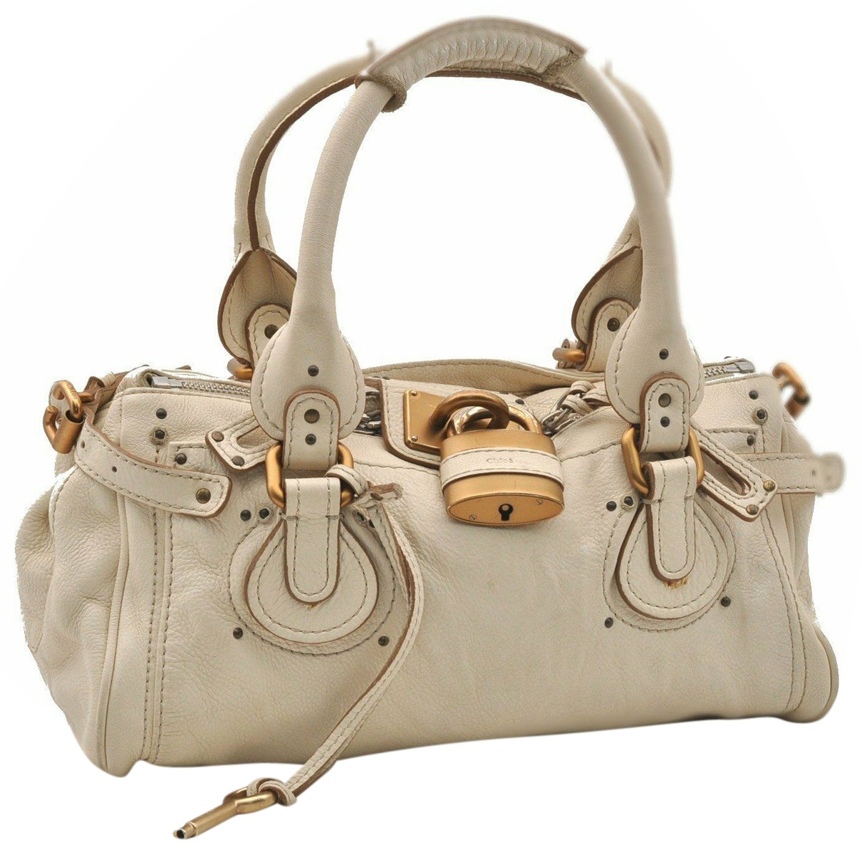 Chloé N White Leather handbag for Women N