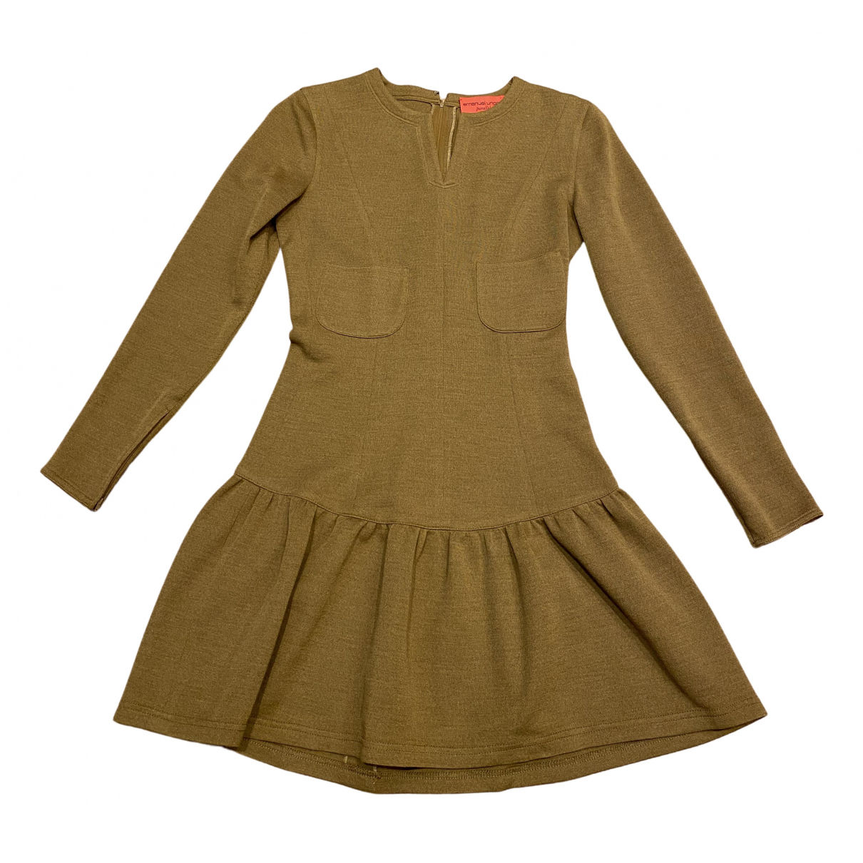 Mini vestido de Lana Emanuel Ungaro