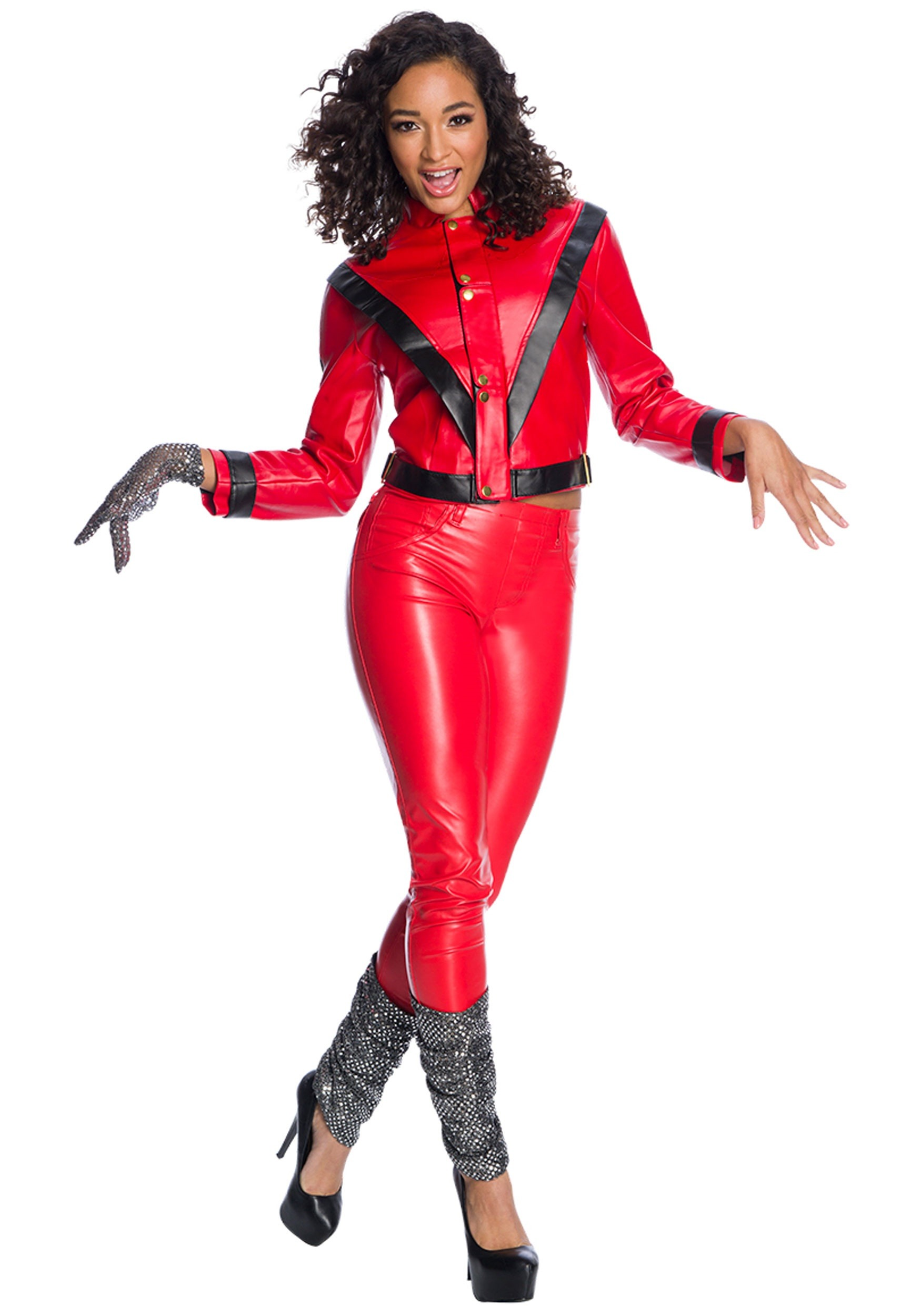 Premium Michael Jackson Women's Costume