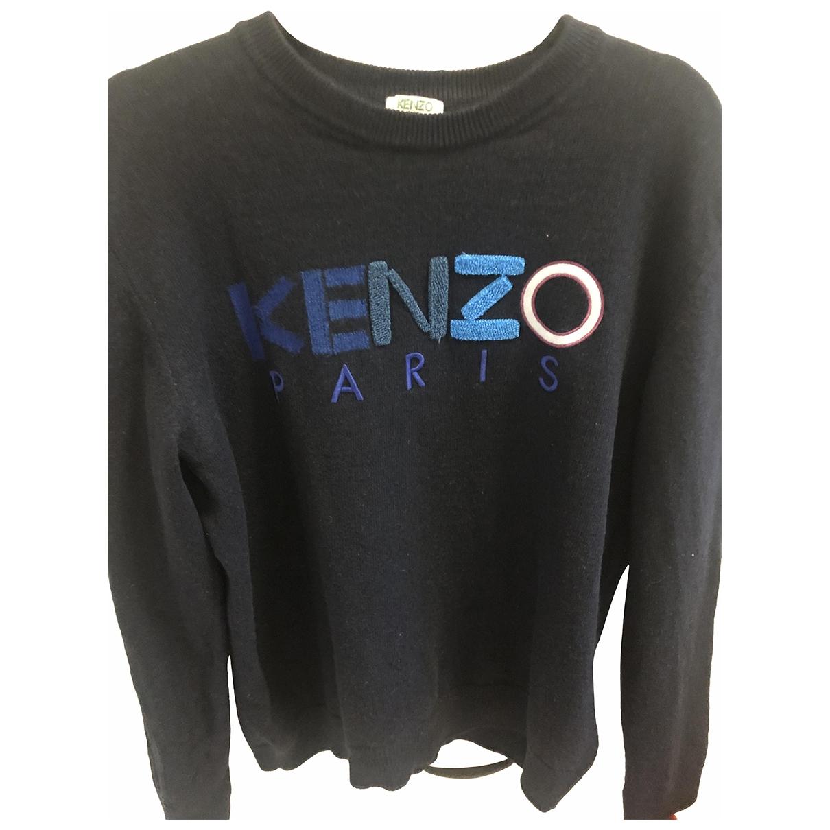 Kenzo \N Blue Wool Knitwear for Women 40 FR
