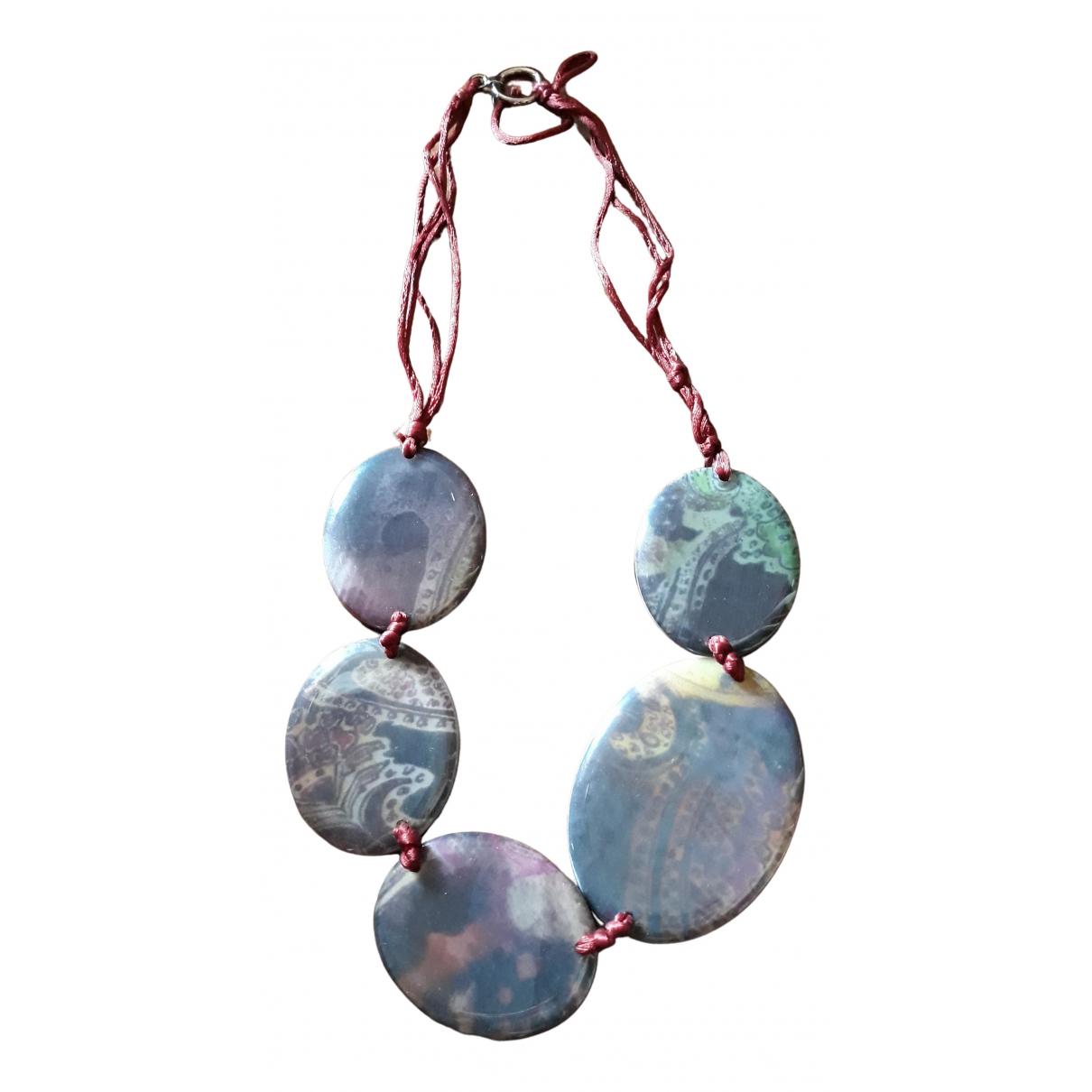 Emporio Armani - Collier   pour femme en perles - multicolore