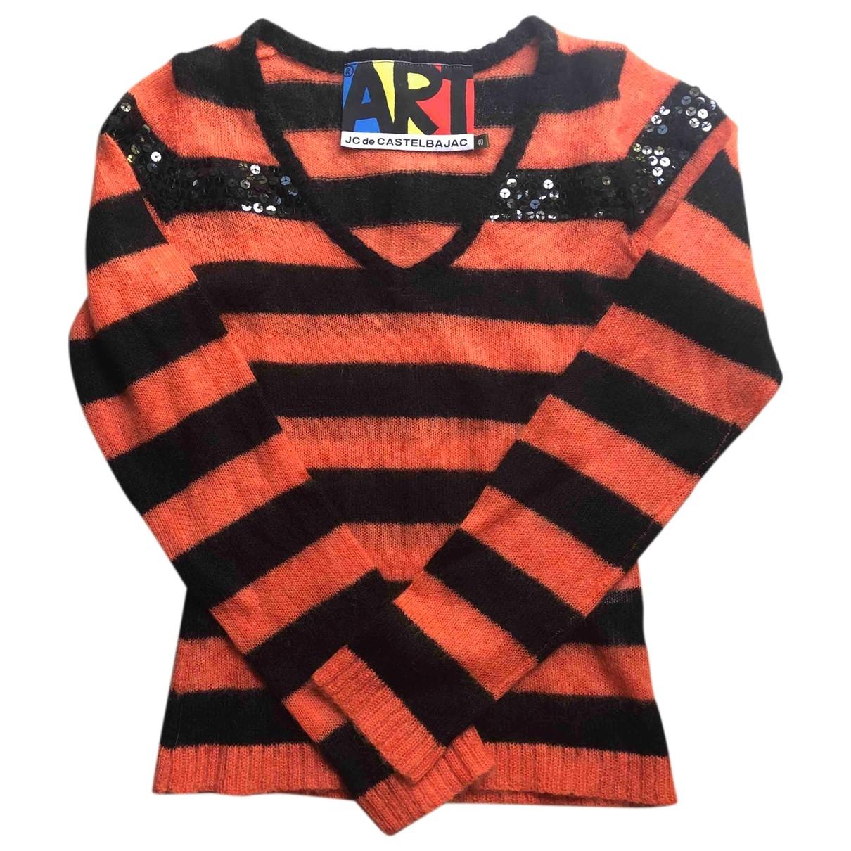 Jc De Castelbajac - Pull   pour femme en laine - multicolore