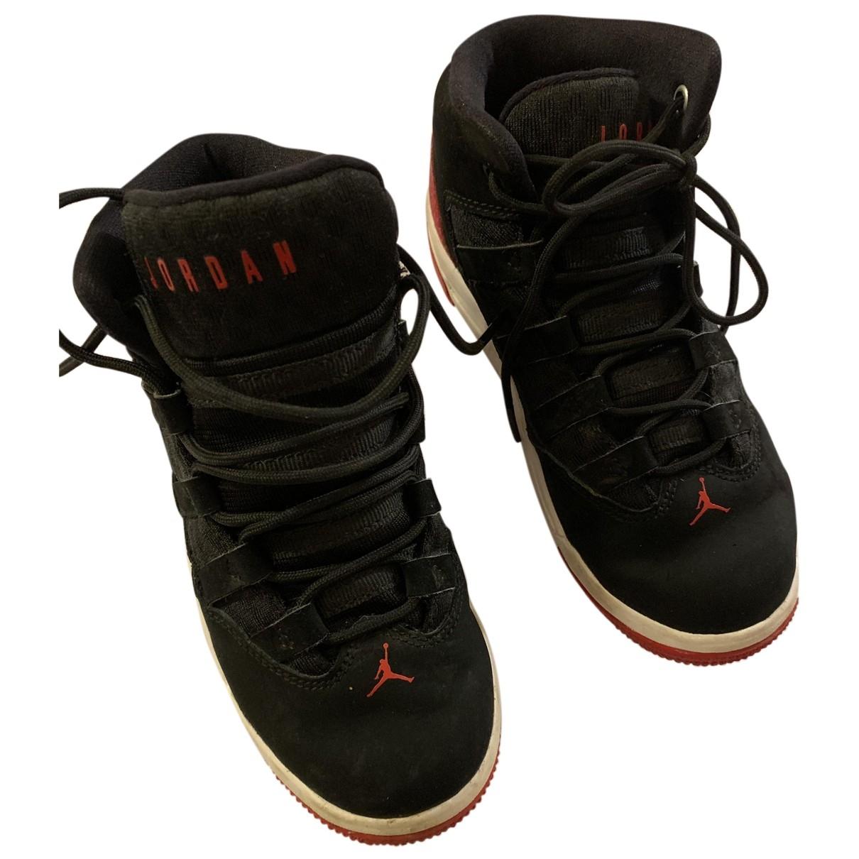 Jordan - Baskets   pour enfant en cuir - noir