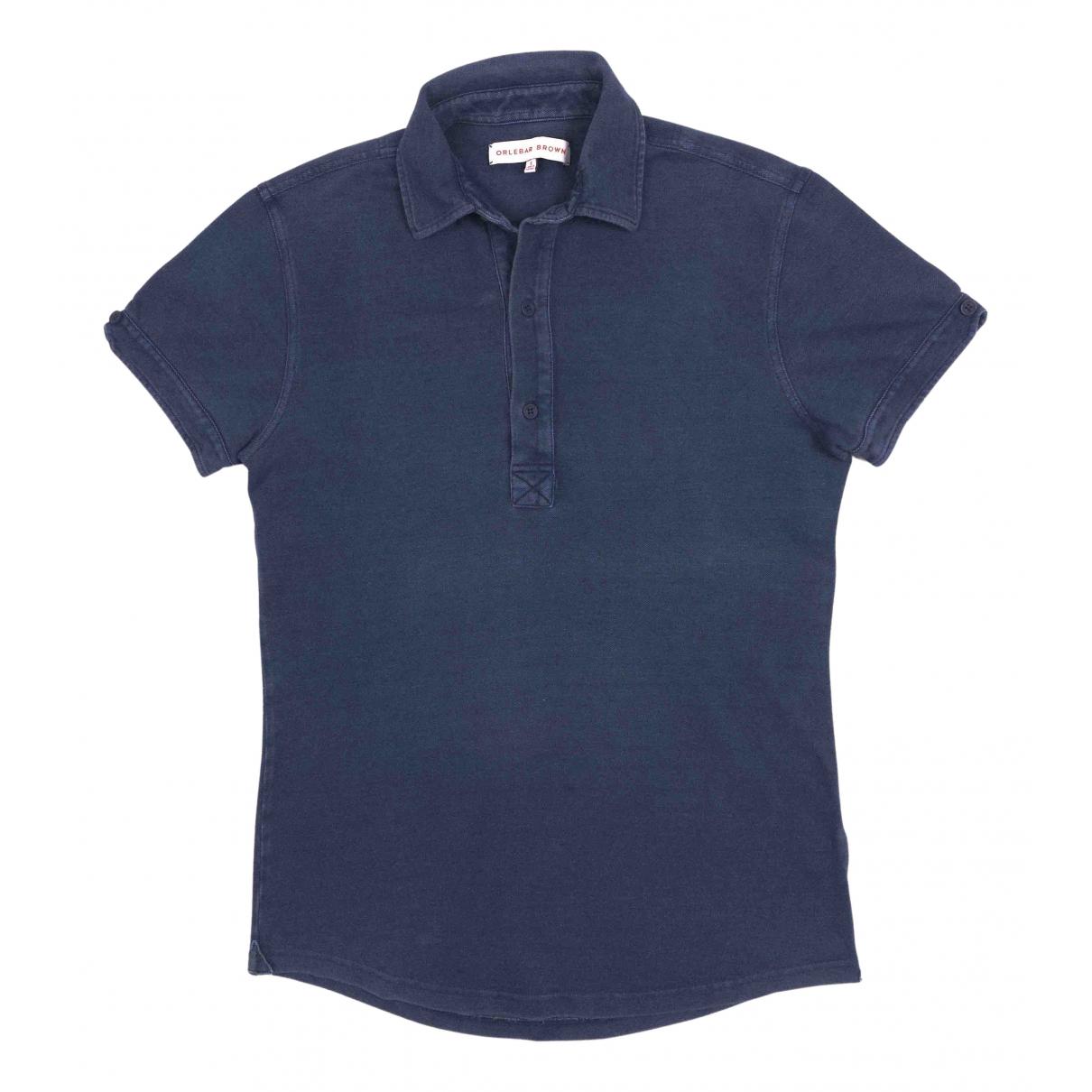 Orlebar Brown \N Poloshirts in  Marine Baumwolle