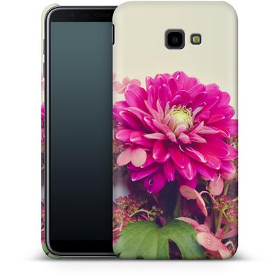 Samsung Galaxy J4 Plus Smartphone Huelle - Pink Dahlia 2 von Joy StClaire