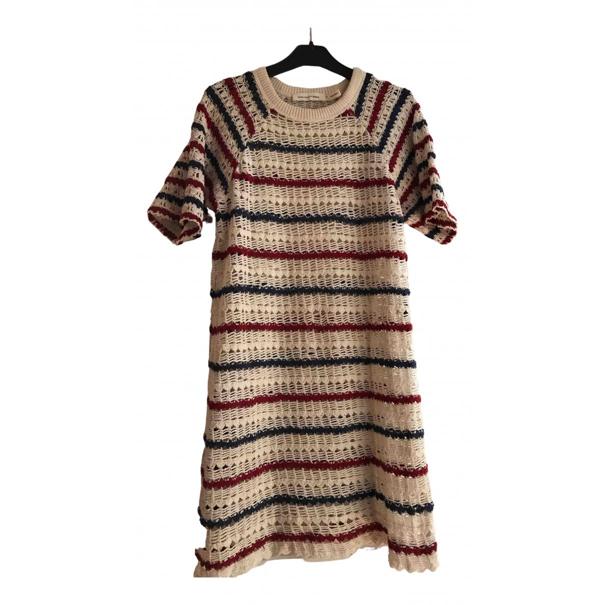 Isabel Marant Etoile - Robe   pour femme en coton - multicolore