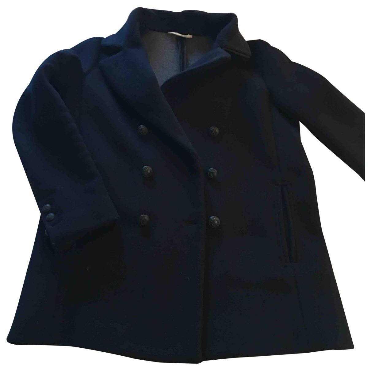My Pant's \N Blue Wool coat for Women 36 FR