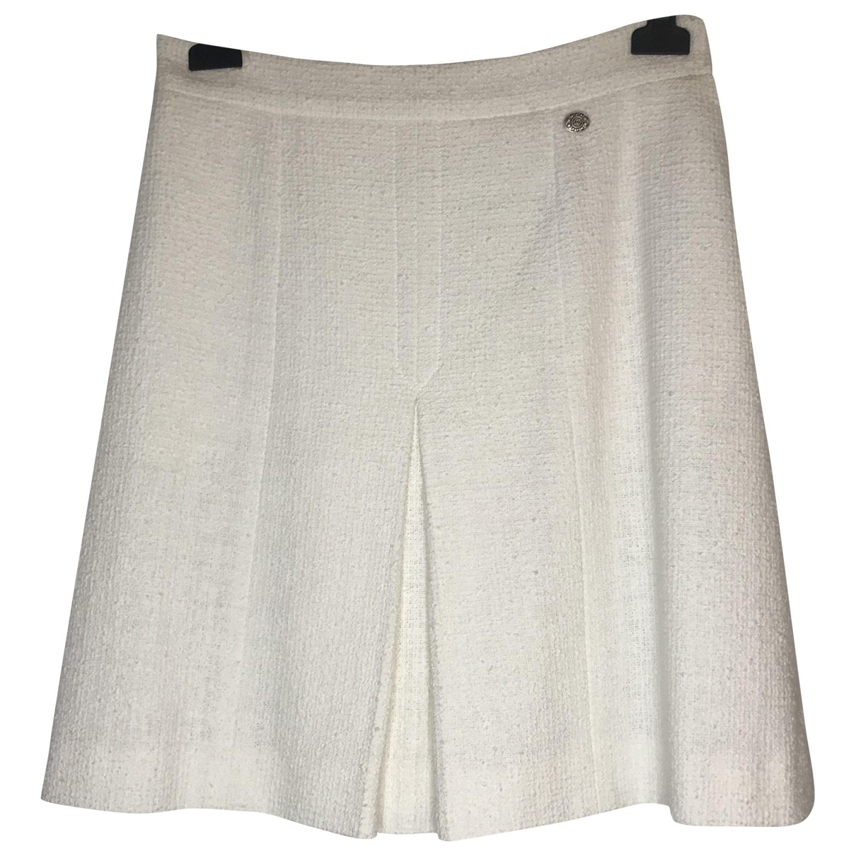 Chanel \N White Cotton skirt for Women 40 FR