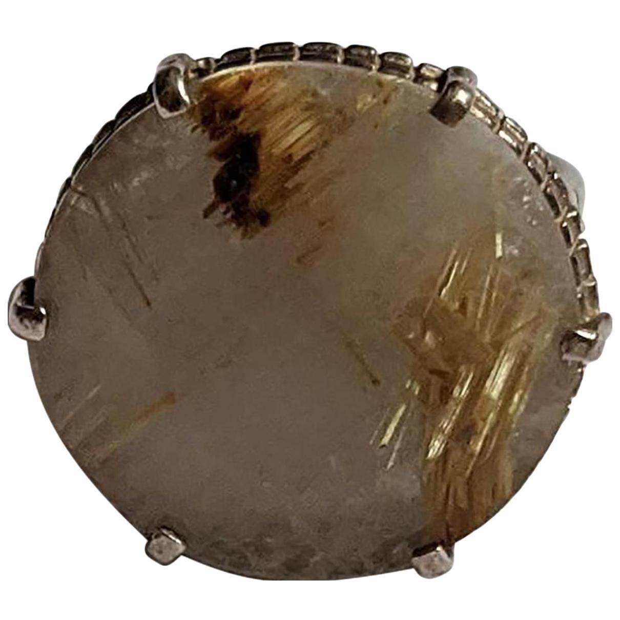 Wouters & Hendrix \N Ring in  Beige Silber