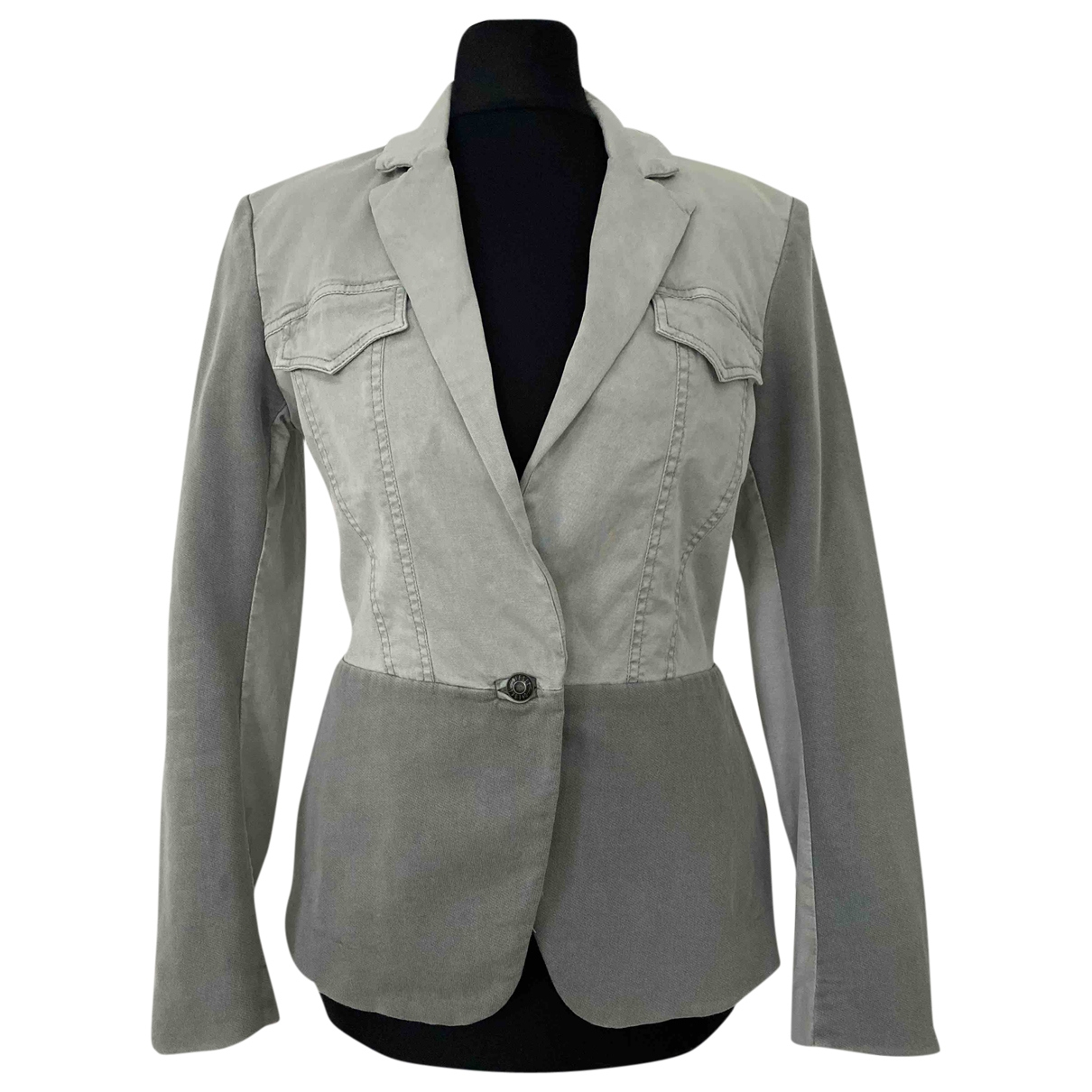 Diesel \N Khaki Cotton jacket for Women XS International
