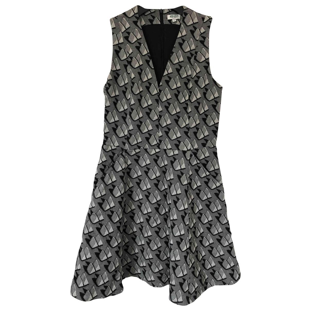 Kenzo - Robe   pour femme - gris