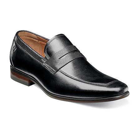 Florsheim Mens Scottsdale Penny Slip-On Shoe, 8 1/2 Medium, Black