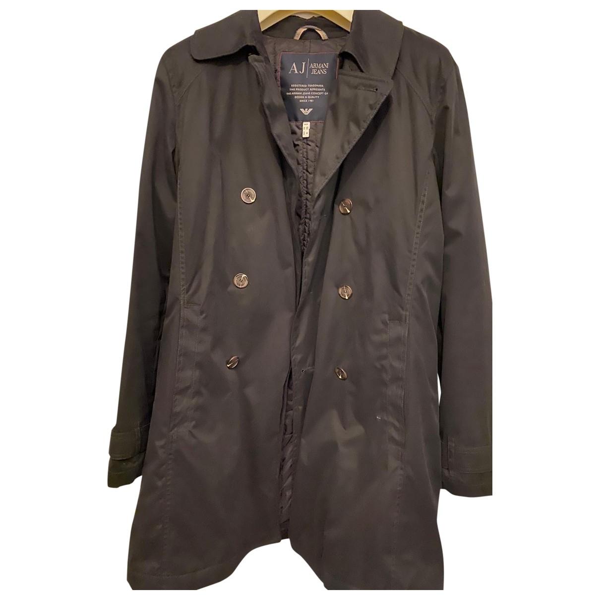 Armani Jeans \N Black jacket  for Men L International