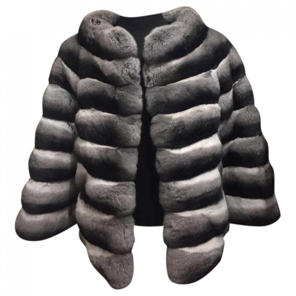 Kopenhagen Fur \N Multicolour Chinchilla jacket for Women 36 FR