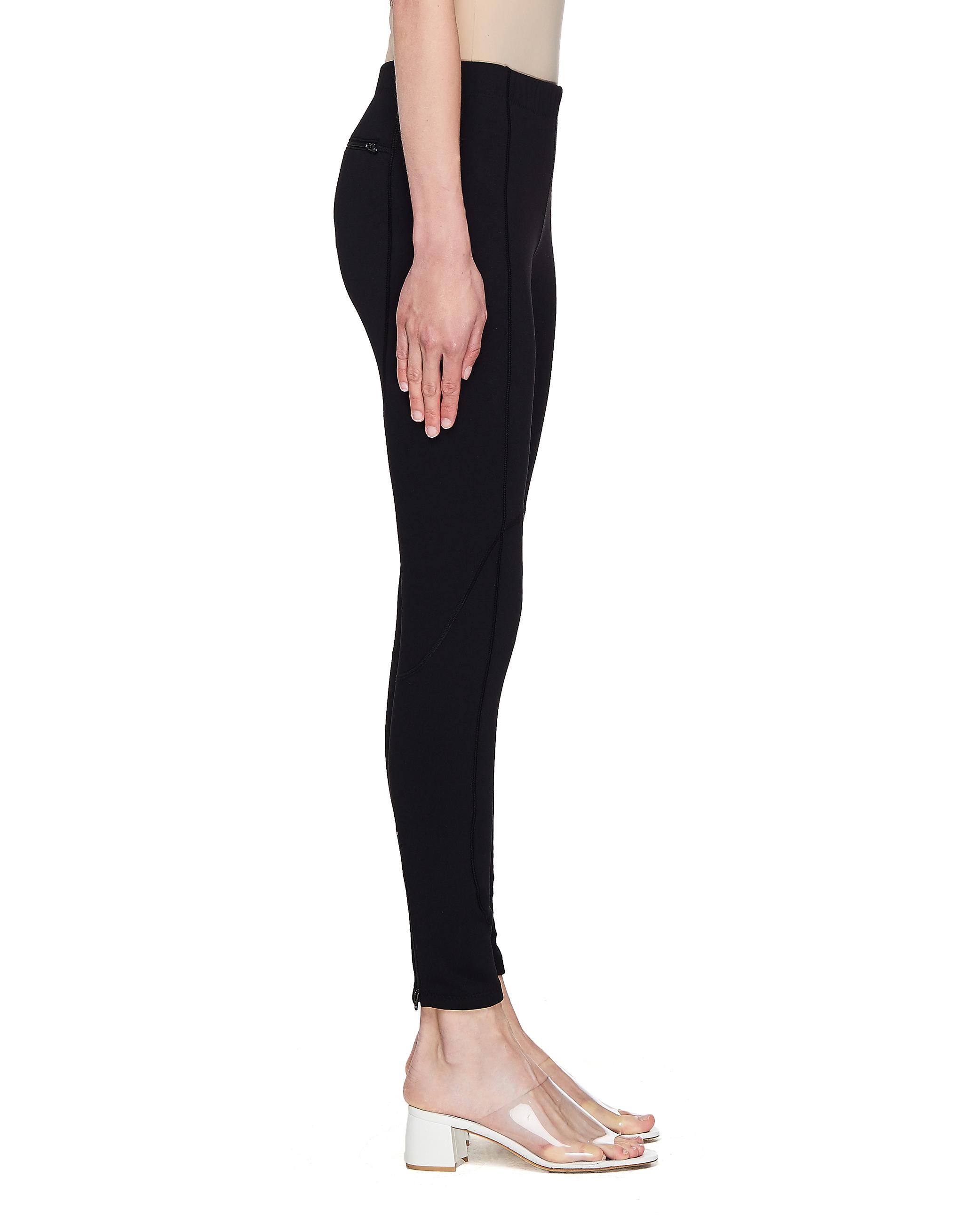 Balenciaga Black Leggings With Pocket