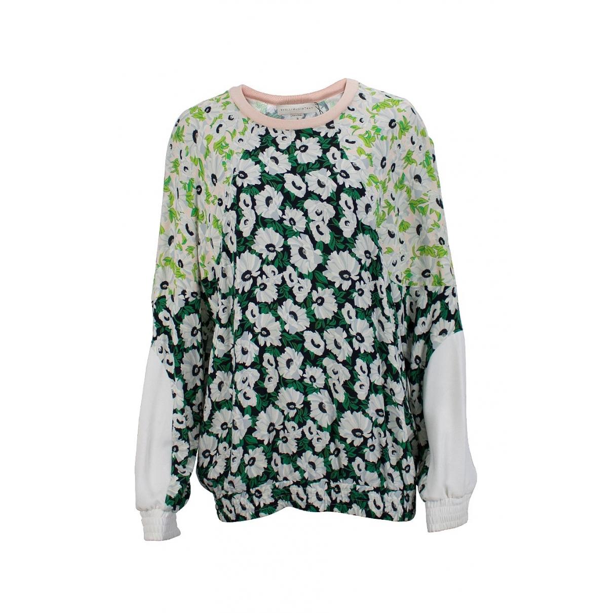 Stella Mccartney \N Pullover in  Gruen Baumwolle