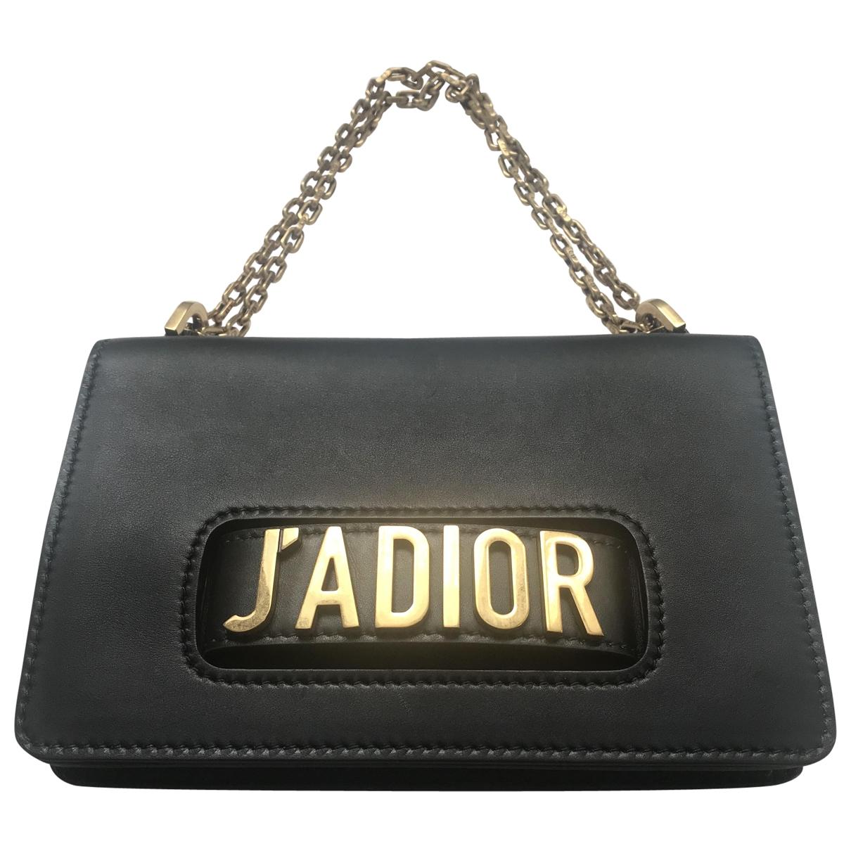 Dior - Sac a main Jadior pour femme en cuir - noir